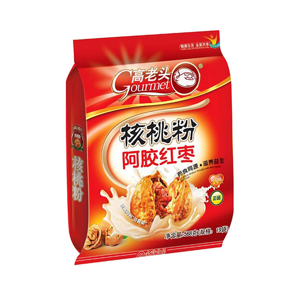 高老头 核桃粉(阿胶红枣)图片