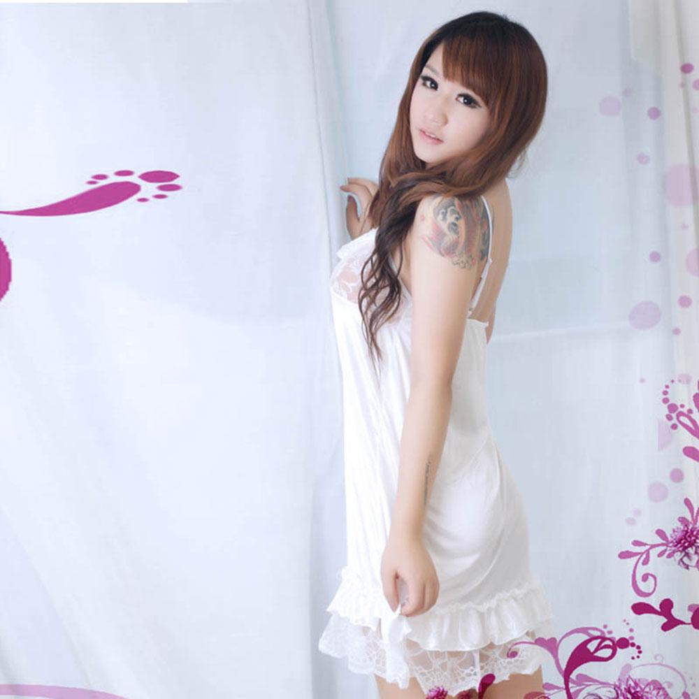 武汉病房格儿制服情趣诱人夜店服(白色7008)林妙可性感圣菲情趣图片