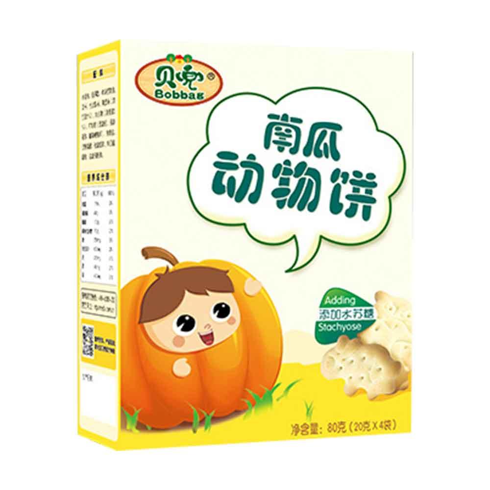 贝兜南瓜味动物饼干