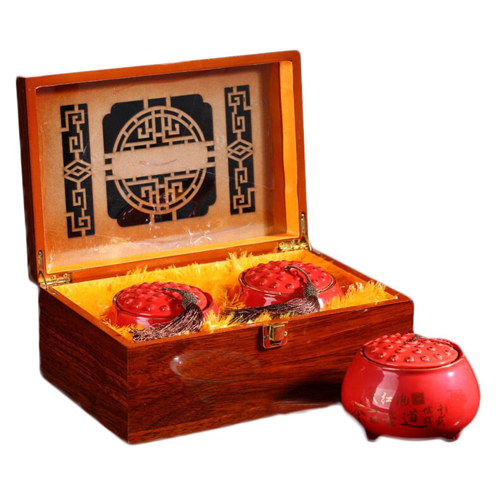 实木茶叶礼盒包装