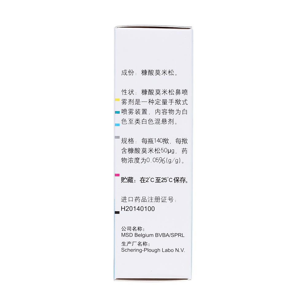 糠酸莫米松鼻噴霧劑