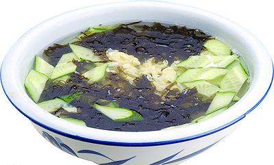 黄瓜鸡蛋紫菜汤-健客网