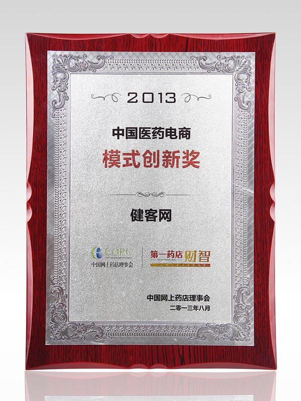 2013中国医药电商模式创新奖